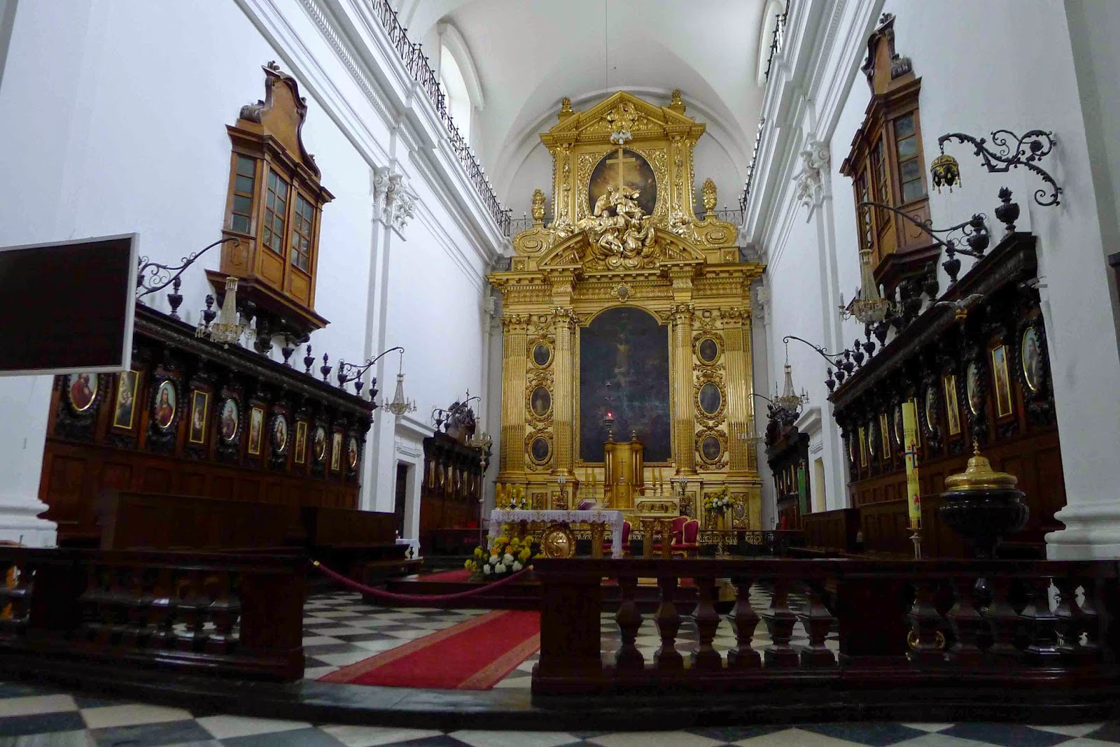 Holy Cross Church Altar