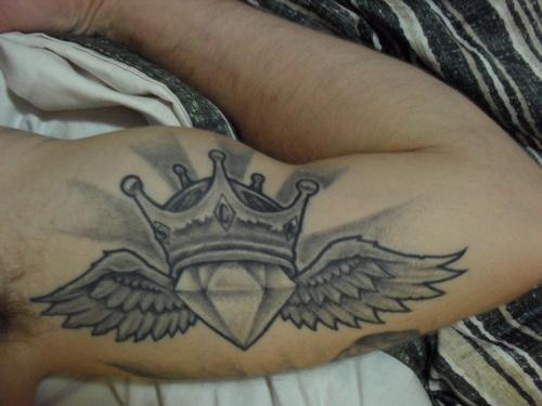 Crown Diamond Tattoo