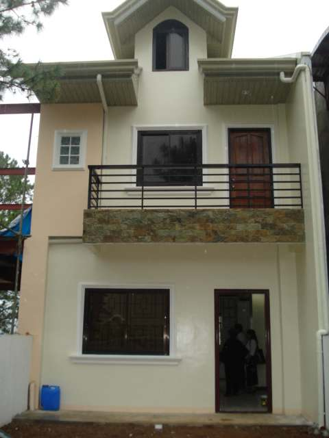 Collection 50 beautiful narrow house design for a 2 story for House design in small area