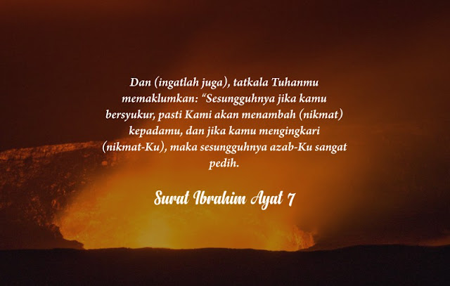 4 janji allah dalam al quran, bagi orang yang bersyukur