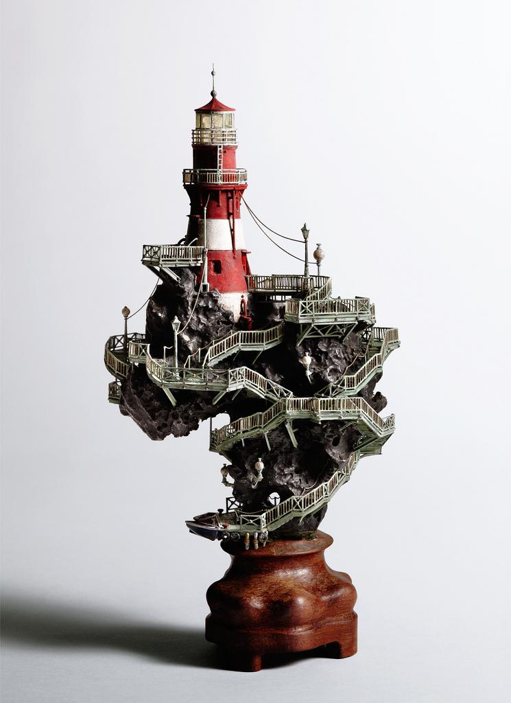 منحوتات مصغرة تُظهر رونق وجمال بعض المعالم من قِبل الفنان الياباني Takanori Aiba !!
