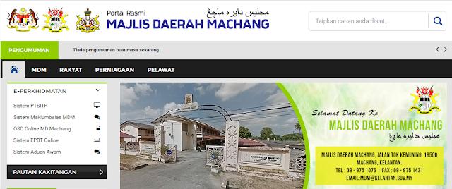 Rasmi - Jawatan Kosong (MDM) Majlis Daerah Machang Terkini 2019