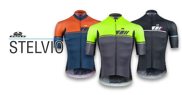 Camisola de ciclismo GSG Stelvio