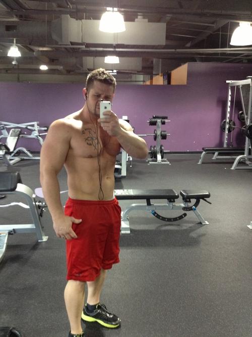 Muscle Jocks Gym Self Portrait