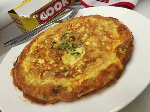 Cook İle Patatesli ve Peynirli Tortilla