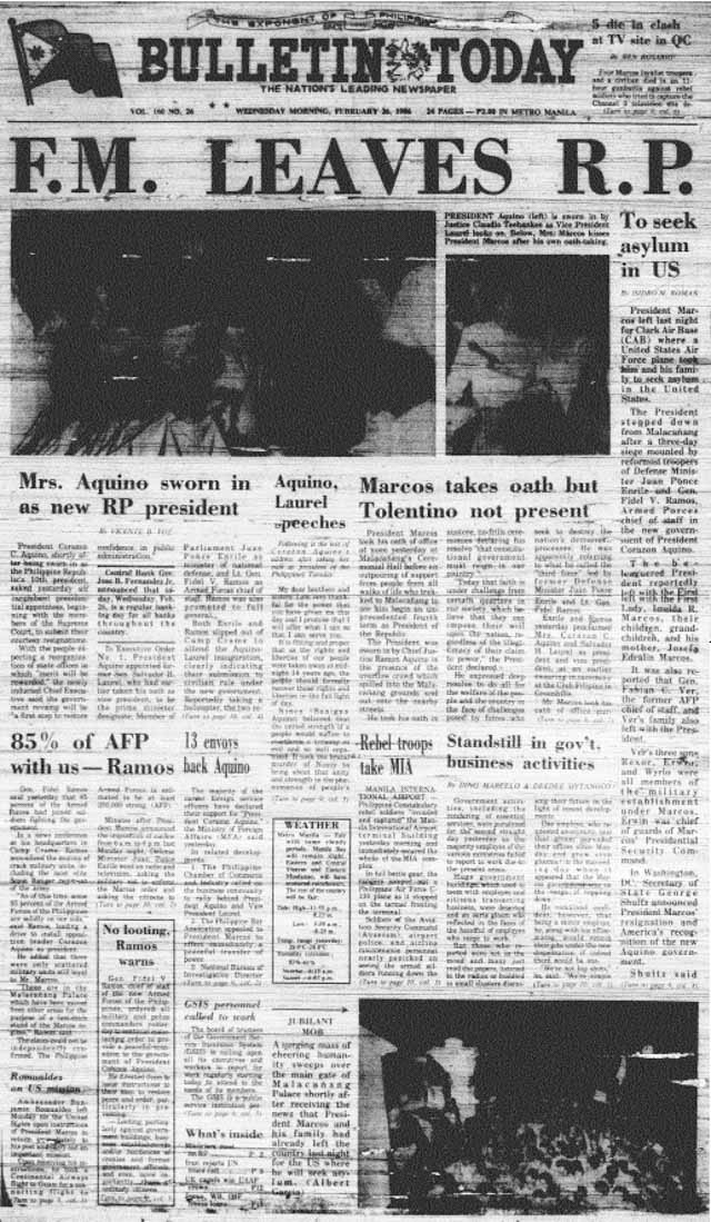 Feb 23 news headline