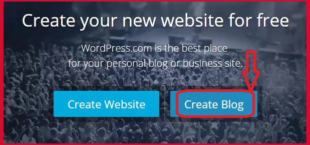 Create-wordpress-free-blog
