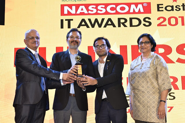 mjunction wins the prestigious Nasscom East IT Awards 2017