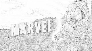 Avengers: Endgame coloring pages coloring.filminspector.com
