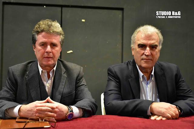 Ο Δημήτρης Ρέππας στο Ναύπλιο ομιλητής στην προσυνεδριακή εκδήλωση του Κινήματος Αλλαγής (βίντεο)