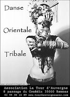 Elaïs Livingston, Cours, Danse, Danse tribale, Tribal-Fusion, ATS, Rennes, Bretagne, Paris