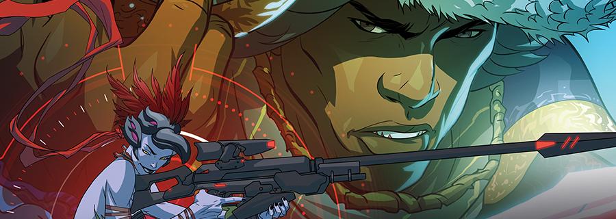 No te pierdas el nuevo cómic de Overwatch, ¡Mascarada!