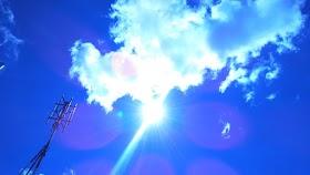 Extrañas Fotos del Sol, Aparecen objetos colosales cerca de el