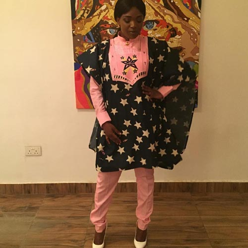 Annie Idibia Rocks Agbada: Hit Or Miss?