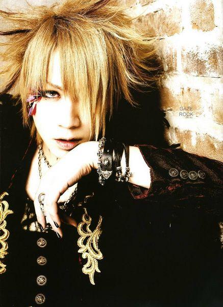 Band Singer Profile ルキ Gazette