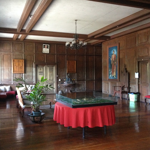 Living room of the Bishop's House