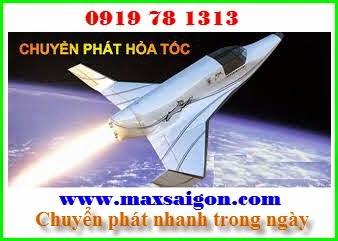 dịch vụ chuyển phát nhanh hỏa tốc Maxsaigon