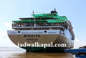 Jadwal Kapal Km Binaiya Bulan Oktober 2019