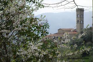 Vellano Valleriana Tuscany Italy Springtime Starts La Pieve
