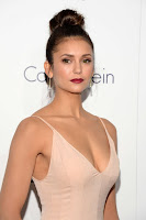 Nina Dobrev puts cleavage on show at the Elle Women in Hollywood Awards
