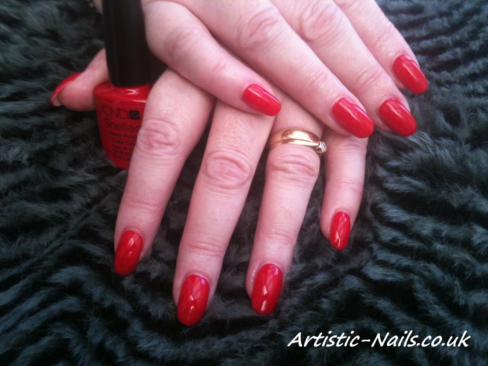 Artistic Nails Poole Uk Shellac Power Polish