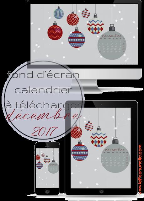 calendrier 2017, fond d'écran, FLE, le FLE en un 'clic'