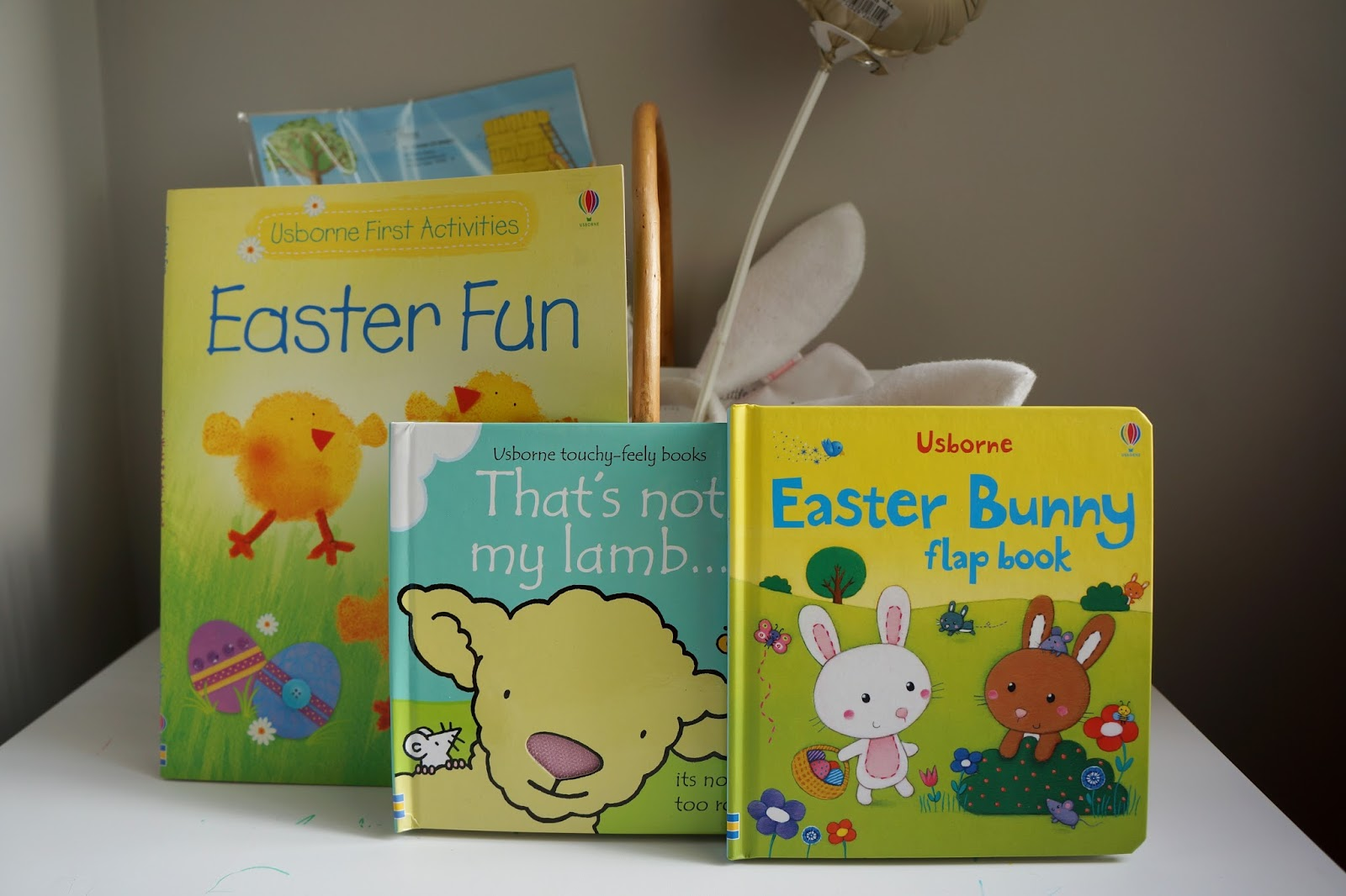 three Easter books