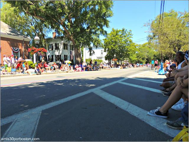 Desfile 4 de Julio en Bristol, RI