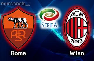 شاهد مباراة روما وميلان بث مباشر اليوم الاثنين 12-12-2016 فى الدورى الايطالى
