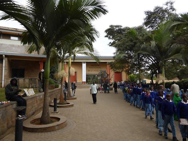 Escolares en el Museo Nacional