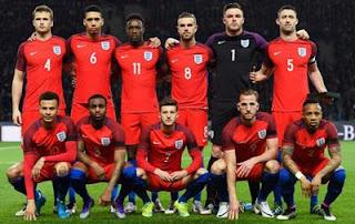 Skuad Inggris EURO 2016