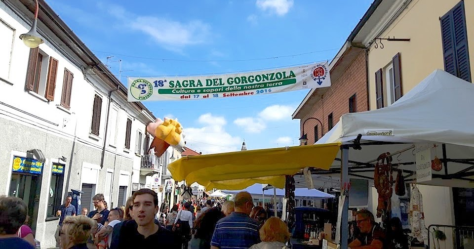 Sagra Nazionale del gorgonzola 2016 e Blog Tour Martesana