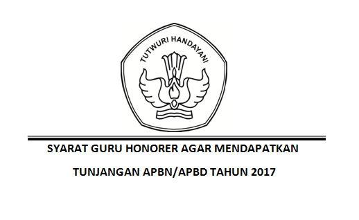 Syarat Guru Honorer Agar Mendapatkan Tunjangan APBN/APBD Tahun 2017