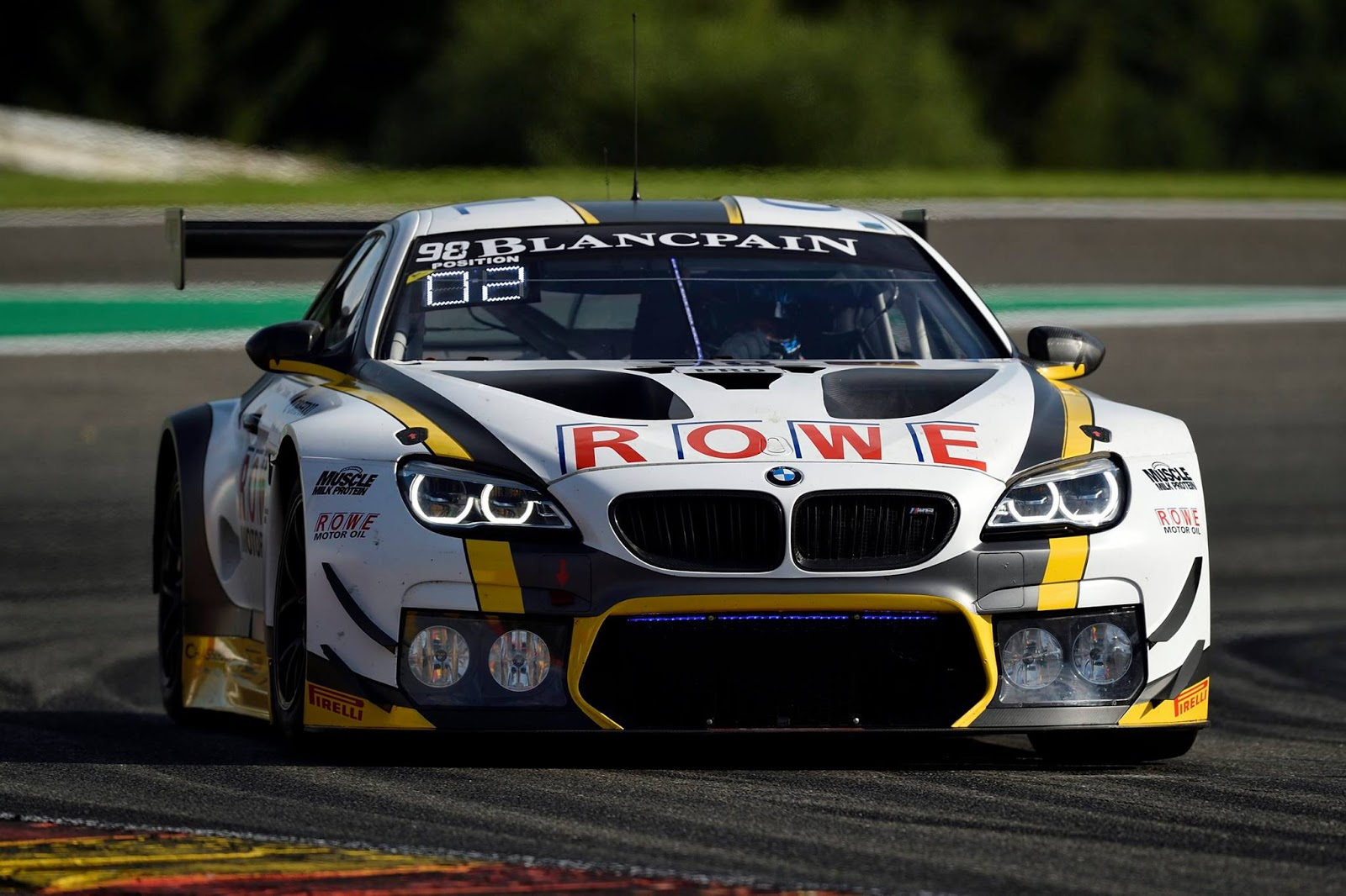 bmw m6 gt3 claims victory at thrilling spa francorchamps. Black Bedroom Furniture Sets. Home Design Ideas