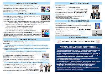 Arahal - Fiesta del Verdeo 2017 - Programa General