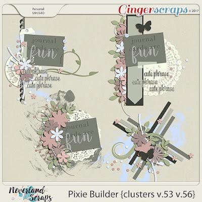 http://store.gingerscraps.net/Pixie-Builders-clusters-v.53-v.56.html