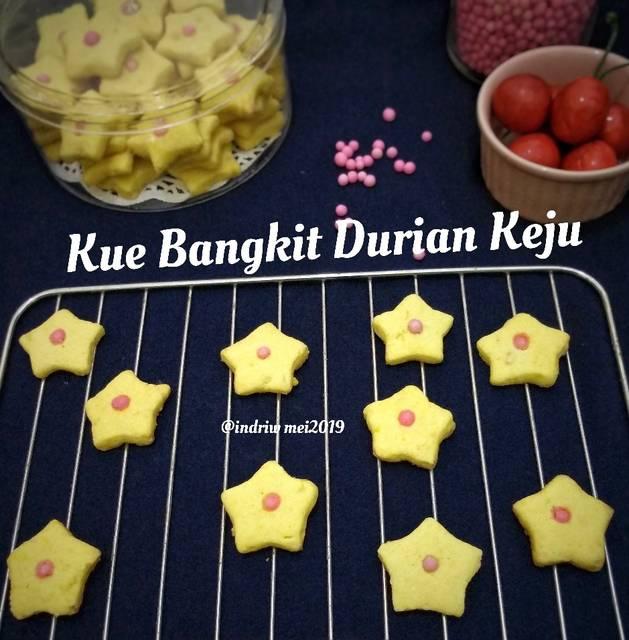 Resep Kue Bangkit Durian Keju Viki Cook