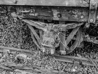 Decaying Coal Wagon Railway Victorian Blists Hill