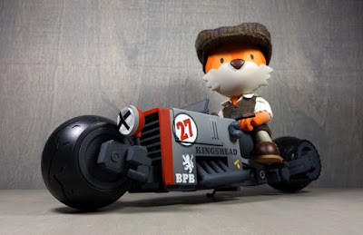 Flynn Skitch and the Batsby Balderdash GT250 #27 Resin Figure Set by Huck Gee