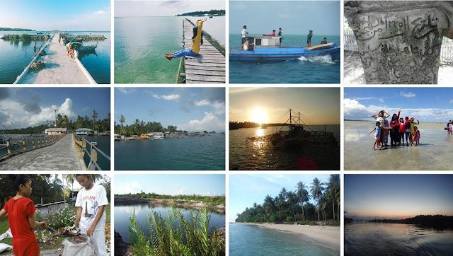 Pulau Subi Besar dan Pulau Subi kecil Pantai selat nasi wisata eksotis