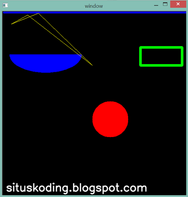 belajar image processing situskoding - part 3 skrip menggambar frame