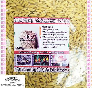 Biji Haver memiliki kandungan protein sekitar 8 - 14 %,  Karbohidrat 65% , Lemak 3%, Mineral lain 2% dan mengandung vitamin B1, B2, B3, B5, B6, vitamin E, K dan juga vitamin J