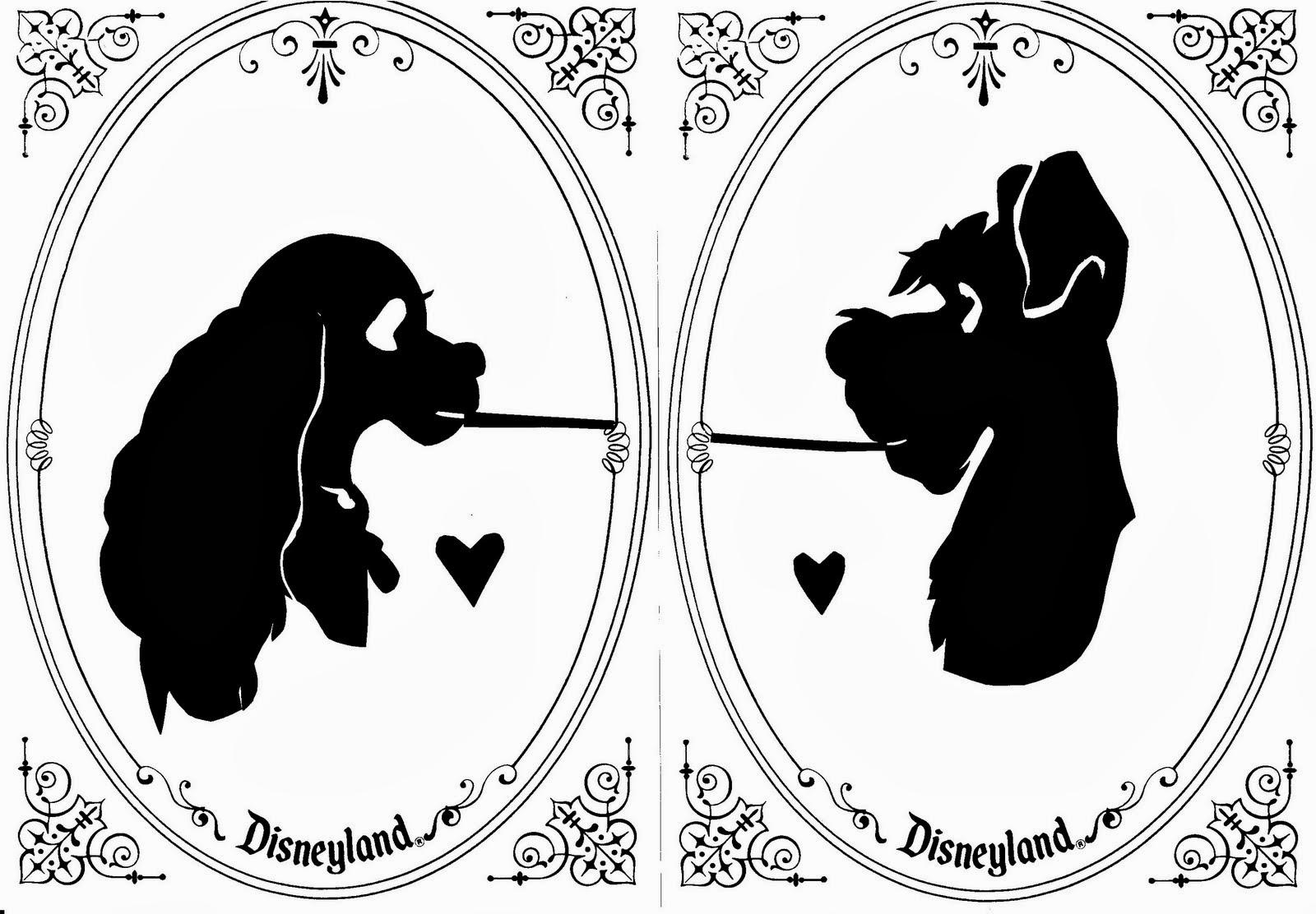 Siluetas de personajes Disney para Imprimir Gratis.  d82a3386a93