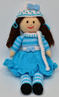 Winter Doll Knitting Pattern