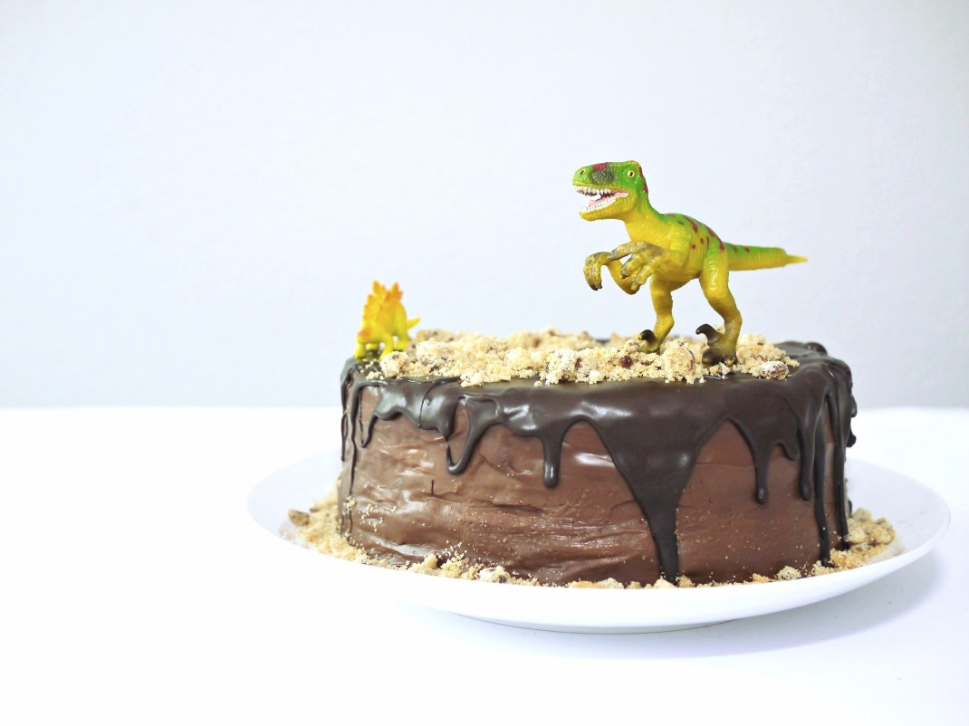 Lovely Food ♥ Rezept Dino-Schokokuchen. Kinderbeburtstag Part I.
