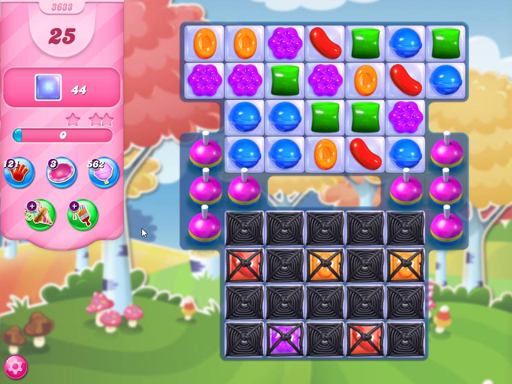 Candy Crush Saga level 3633