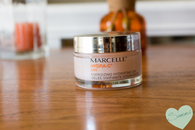 February Finds: New Products I've Been Trying: Marcelle Hydra-C 24H Energizing Gel