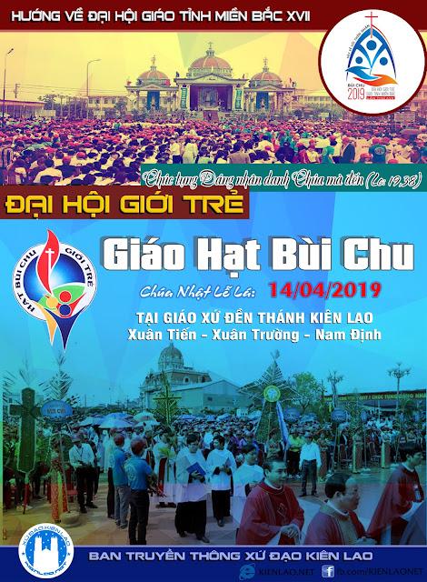 Chương trình Đại hội giới trẻ giáo hạt Bùi Chu 2019
