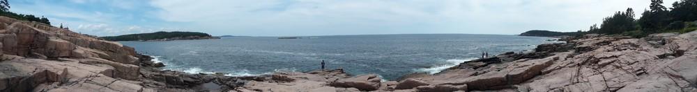 Balade au bord de l'océan à Acadia National Park