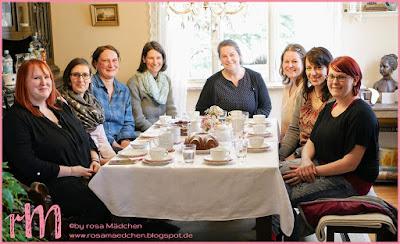 Stampin' Up! rosa Mädchen Kulmbach: Teamtreffen bei Irina von der Herzenswerkstatt in Zella-Mehlis